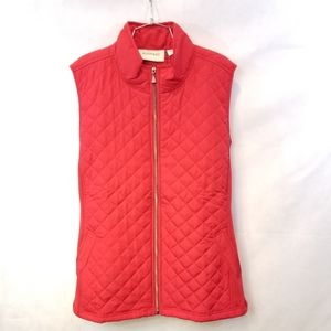 Avenue womens red vest